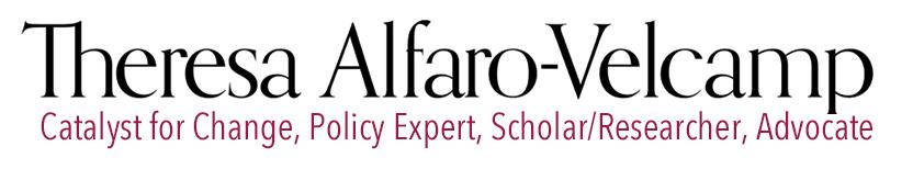 Theresa Alfaro-Velcamp Logo